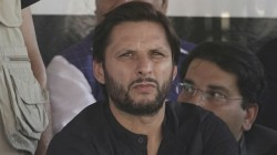 India Pak Series Not Possible Until Modi Is In Power Shahid Afridi