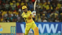 Csk Captain Ms Dhoni Hits Five Sixes In A Row For Csk In Net Session