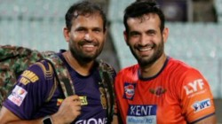 Yusuf Pathan S Reaction After Irfan S Match Winning Knock In World Series