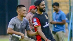 Rcb Responds After Chhetri Expresses His Desire To Play For Them In Ipl