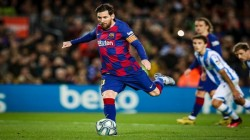 Lionel Messi Helps Barcelona To Win Over Real Sociedad