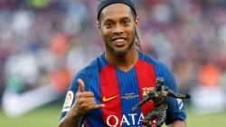 Ronaldinho Scored Five Goals In Prison Football Match