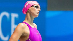 Russia S Olympic Swimmer Yulia Efimova Practices From Home During Lockdown
