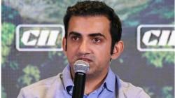 Gautam Gambhir Thanks Rcb For The Acknowledgment