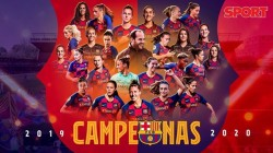 Barcelona Womens Team Crowned 2019 20 League Champions