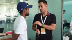 Malayalee Player Sanju Samson Reveals Emotional Story About Dhoni
