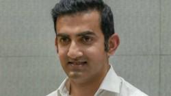 Former Player Gautam Gambhir Picks All Time Indian Test Eleven