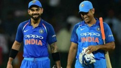 Dhoni Played A Big Role In Making Me Captain Kohli