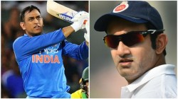 If Dhoni Bat Number 3 World Cricket Have Seen A Most Exciting Cricketer Gambir