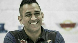 Ms Dhoni Bike Ride With Daughter Ziva Amidst Thunder And Lightning