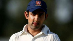Did Nt Do That Intentionally Gautam Gambhir About His Heated Exchange With Shane Watson