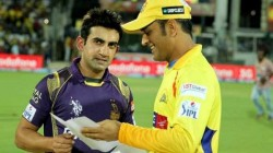 Former Kkr Team Director About The Difference Between Ms Dhoni And Gautam Gambhir