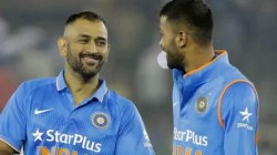 How Ms Dhoni Gave Lesson Of A Lifetime Reveals Indian Allrounder Hardik Pandya