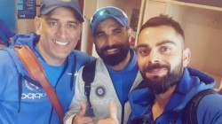 Indian Players Miss Ms Dhoni S Presence In Team Says Pacer Mohammad Shami