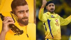 Chennai Super Kings Spinner Harbhajan Singh Teases Rcb Captain Virat Kohli Ahead Of Ipl