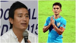 I Am Worried Because There Is Nobody After Sunil Chhetri Bhaichung Bhutia