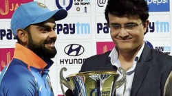 Sourav Ganguly Will Discuss India Team S Overseas Perfomance With Captain Virat Kohli And Coach