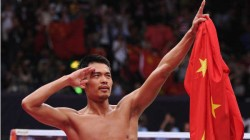 Two Time Olympic Champion China S Badmiton Legend Lin Dan Announces Retirement