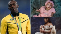 Usain Bolt Shares First Picture Of His New Born Daughter