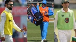 Ms Dhoni And Virat Kohli Former Captains Who Carried Drinks For Their Teammates To Ground