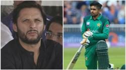 Afridi S Advises Babar Azam On How To Become Kohli