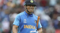 Indian Cricket Legend Ms Dhoni Starts Career With A Run Out And End With Run Out