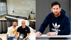 Lionel Messi Sleeps Of Anti Coronavirus Mattress