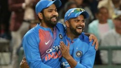 Rohit Sharma Responds To His Comparison With Ms Dhoni By Former Teammate Suresh Raina
