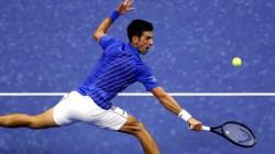 World Number One And Former Champion Novak Djkovic Makes Winning Start In Us Open