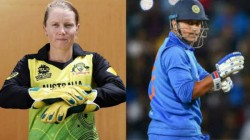 With 92 Dismissals Australian Women S Team Wicket Keeper Alyssa Healy Beats Ms Dhoni S Record In T