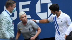 World Number One Novak Djokovic Disqualified From Us Open After Hitting A Line Judje With Ball