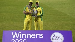 Glenn Maxwell And Alex Carey Shined Australia Win Odi Series Against England