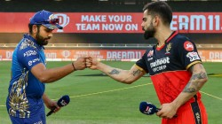 Ipl 2020 Virat Kohli And Rohit Neglect Each Other Before Toss Rift Between Them Resurface Again