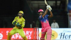Sanju Samson Creates History Scores Fastest Fifty In His Ipl Career And Joins Rajasthan S Elite List