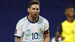 World Cup Qualification Match Argentina And Uruguay Won Lionel Messi Scored