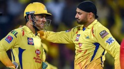 Ipl 2020 Csk And Dhoni Fans Slams Harbhajan After His Response About Wide Ball Controversy