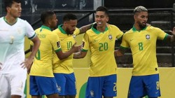 World Cup Football Qualification Match Brazil Win Over Bolivia With 5 Goals