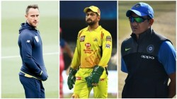 Ipl 2020 Ms Dhoni Should Hand Over Csk Captaincy To Du Plessis Says Sanjay Bangar
