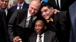One Day We Can Play Together In Sky Brazil Legend Pele Pay Tribute To Diego Maradona