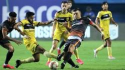 Isl 2020 21 Fc Goa Hyderabad Fc Match 43 At Vasco Score And Details