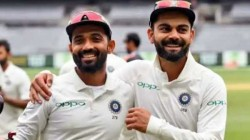 Kohli Has Nt Done Anything Wrong Appointing Rahane As Full Time Captain Premature Feels Dasgupta