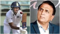 Ind Vs Aus Test Sunil Gavaskar Point Out The Reason Behind Mayank Agarwal Struggle