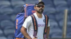 Vice Captain Ajinkya Rahane Rohit And Shardul Reach Chennai Ahead Of First Test Match
