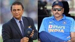 Ravi Shastri Revealed Sunil Gavaskar Was Once Called As Mumbai S Bradman