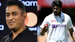 Dhoni Had All Kind Of Experience I Have Asked Him How To Deal With Pressure Reveals Thakur