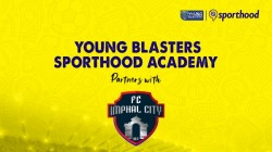 Young Blasters Sporthood Academy Join Hands With Fc Imphal City