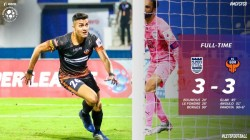 Isl 2020 21 Mumbai City Fc Fc Goa Match Ends In A Thriller Draw