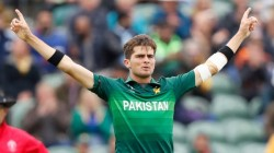 Pak Pacer Shaheen Afridi Overtake Jasprit Bumrah Becomes Youngest Player To Pick 100 T20 Wicket