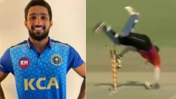 Rcb S New Recruit And Kerala Player Mohammed Azharuddeen S Magical Stumping Video Goes Viral