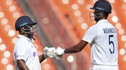 Ind Vs Eng India Eyes Big Lead On Fourth Test In Day Three Washington Sundar And Axar Patel Are The Correct Batsman On The Crease